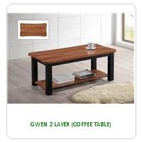 GWEN 2 LAYER (COFFEE TABLE)